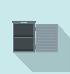Freeze with 2 room icon flat style vector