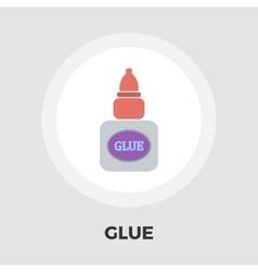 Glue flat icon vector