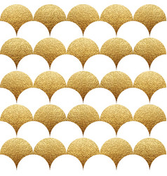 abstract seamless geometric pattern with gold vector image vector image