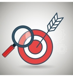 Search target icon vector