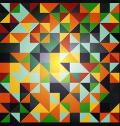 Abstract triangle pattern background advertising vector