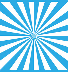 Blue and white retro sunburst background sun and vector
