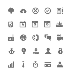 Business and Office Icons 4 vector