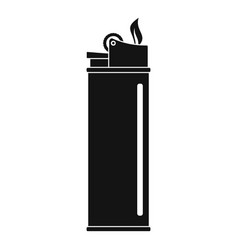 lighter icon simple style vector image