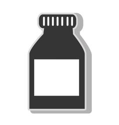 Medical medicine bottle vector image