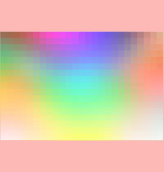 Mosaic square tiles background vector