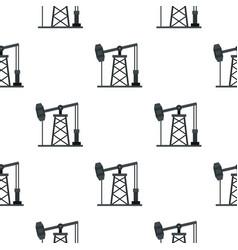 Oil pump pattern seamless vector