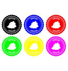 vatican rubber stamp vector image