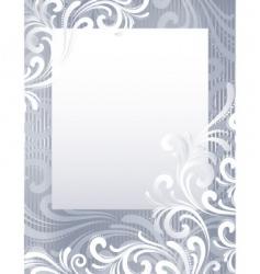frozen background vector image vector image