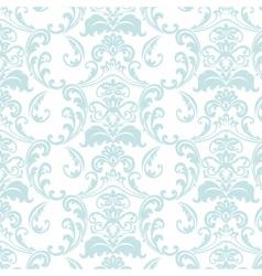 Vintage floral ornament pattern vector image vector image