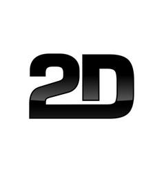 2d custom logotype design vector image vector image