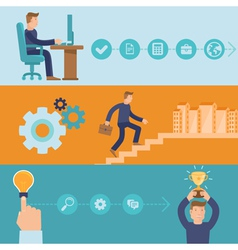 infographic design elements and icons vector image vector image