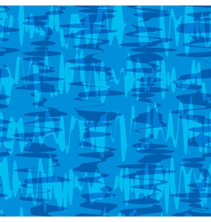 Seamless pattern Waves texture Stylish abstract vector image vector image
