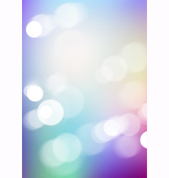 Abstract bokeh light with blurred colors vector