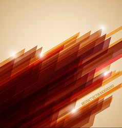 Abstract retro background made from stripes vector image