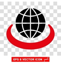 Global Network Eps Icon vector