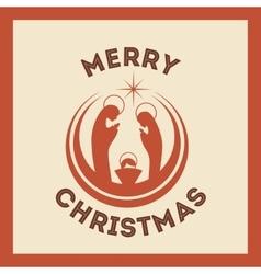 K icon Merry Christmas design graphic vector