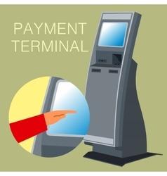 Payment terminal vector