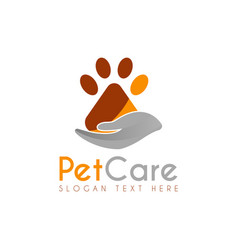 pet care logo icon symbols and app icon vector image
