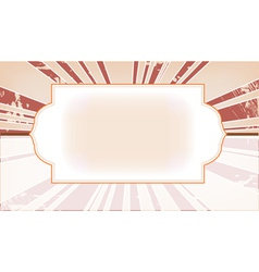 style template frame vector image