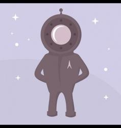 Spaceman vector image vector image