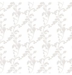 Damask luxury floral ornament pattern vector image vector image