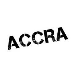 Accra rubber stamp vector image