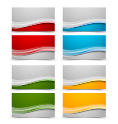 business card backgrounds vector image