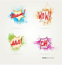 Collection of sound effects vector