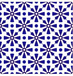 Cute flower pattern vector