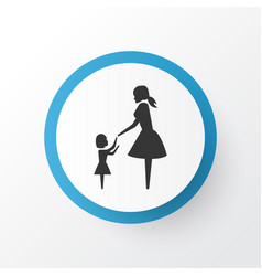 daughter icon symbol premium quality isolated vector image