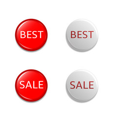 Discount label set vector