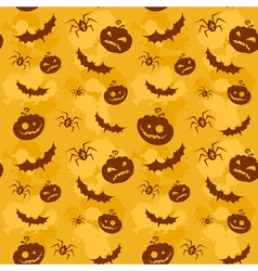 Halloween seamless background big vector