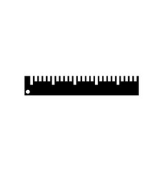 Ruler icon graphic design template isolated vector