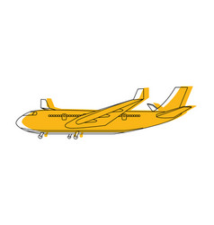 transportation concept cartoon vector image