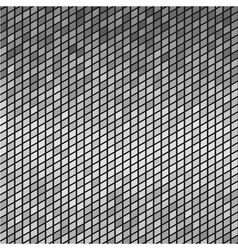 Abstract Gray mosaic Tiles Background vector image vector image