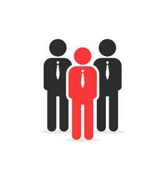 leadership like individual person vector image vector image
