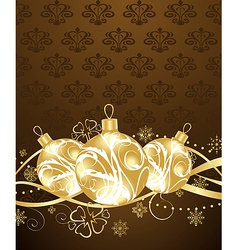beautiful christmas background - vector image
