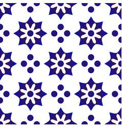 Cute tile design vector