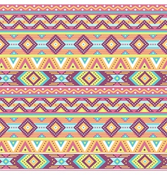 Ethnic pattern tropic pink vector