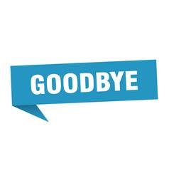 Goodbye vector