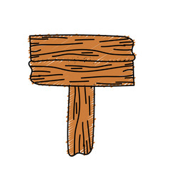 Nice retangular wood emblem design vector