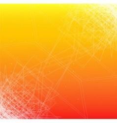 Orange line texture background vector