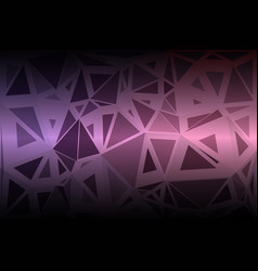 Purple blue pink random sizes low poly background vector