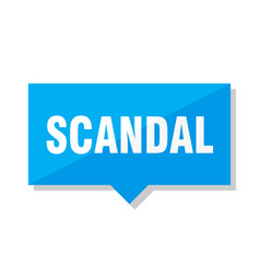 Scandal price tag vector