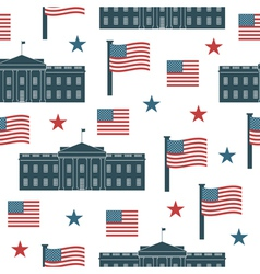 usa pattern vector image vector image