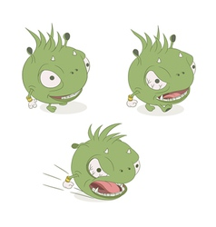 character monsters vector image vector image