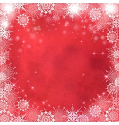 Christmas Abstract Textured Background vector image vector image