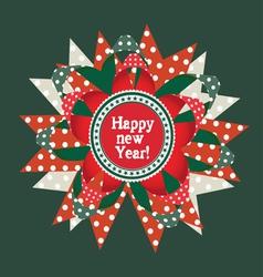 happy new year design element vector image vector image