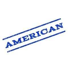 American Watermark Stamp vector image